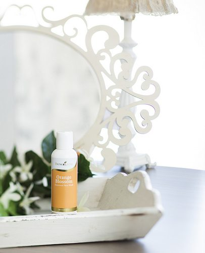 Orange Blossom Face Wash!! Just look at all the skin loving ingredients!