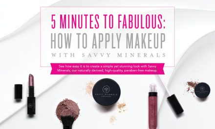 Applying Savvy Minerals Makeup