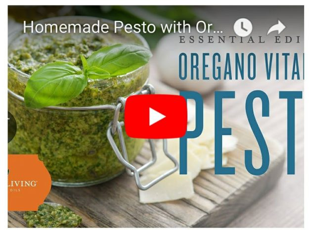 Easy Tasty Pesto with Oregeno Vitality!