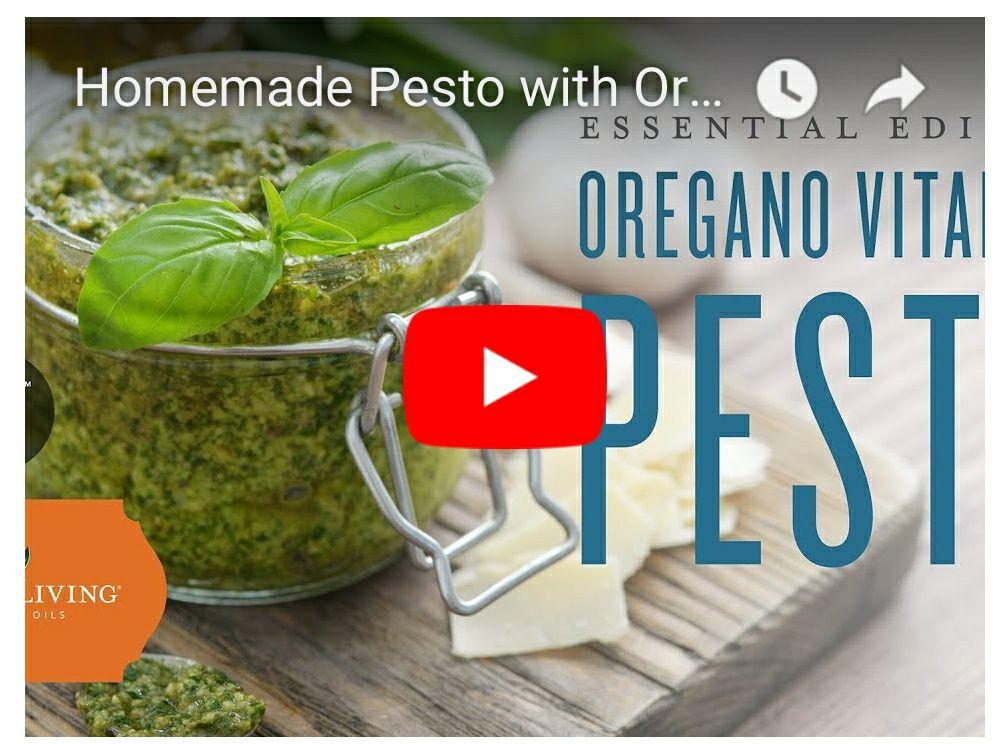 Easy Tasty Pesto with Oregeno Vitality!