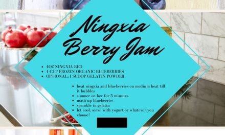 NingXia Red and Blueberry Jam!