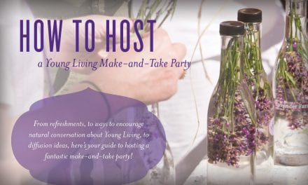 How to Host a Young Living Make-and-Take Party