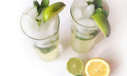 Delicious Ginger Lime Mocktail